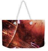 Starships Hone Their Skills Weekender Tote Bag