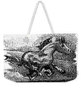 Startled Equus Weekender Tote Bag
