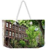 Stately Ny Street Weekender Tote Bag