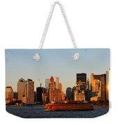 Staten Island Ferry 3 Weekender Tote Bag