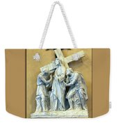 Station Of The Cross 02 Weekender Tote Bag