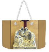 Station Of The Cross 14 Weekender Tote Bag