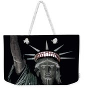 Statue Of Liberty Poster Weekender Tote Bag