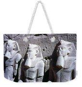 Statues Of Ramses II Weekender Tote Bag by Granger