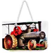 Steam Engine Tractor  Weekender Tote Bag