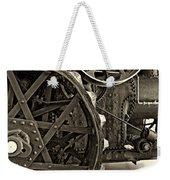 Steam Power Monochrome Weekender Tote Bag