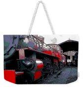 Steam Punk Railroad Weekender Tote Bag