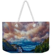 Steamboat On The Hudson River Weekender Tote Bag