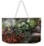 Steampunk - Machine - Transportation Of The Future Weekender Tote Bag by Mike Savad