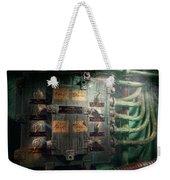 Steampunk - Naval - Electric - Lighting Control Panel Weekender Tote Bag