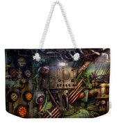 Steampunk - Naval - The Comm Station Weekender Tote Bag