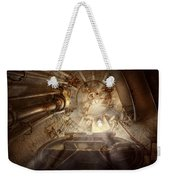 Steampunk - Naval - The Escape Hatch Weekender Tote Bag