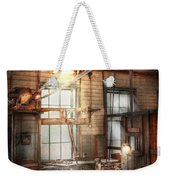 Steampunk - Machinist - The Grinding Station Weekender Tote Bag