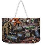 Steampunk Still Life Weekender Tote Bag