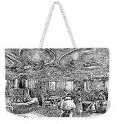 Steamship Salon, C1890 Weekender Tote Bag by Granger