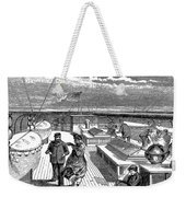 Steamships: Deck, 1870 Weekender Tote Bag