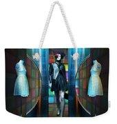 Steel Eyes Mannequin Weekender Tote Bag