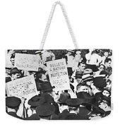 Steel Strike, 1937 Weekender Tote Bag