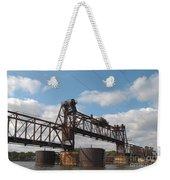 Steel Water Hdr Number 1 Weekender Tote Bag