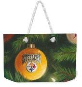 Steelers Ornament Weekender Tote Bag by Joe Winkler