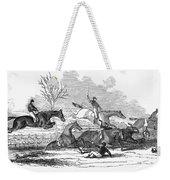 Steeplechase, 1845 Weekender Tote Bag