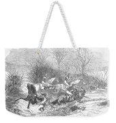 Steeplechase, 1847 Weekender Tote Bag