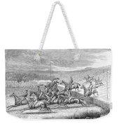 Steeplechase, 1863 Weekender Tote Bag