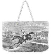 Steeplechase, C1880 Weekender Tote Bag