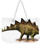Stegosaurus Armatus, A Prehistoric Era Weekender Tote Bag