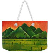 Stellenbosch Mountain Weekender Tote Bag