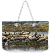 Stellers Sea Lion Eumetopias Jubatus Weekender Tote Bag