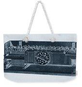 Step Reckoner, Leibniz Mechanical Weekender Tote Bag