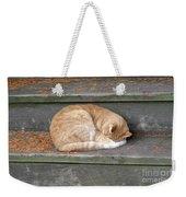Step Sleeper Weekender Tote Bag