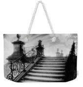 Steps At Chateau Vieux Weekender Tote Bag by Simon Marsden