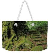 Steps In The Wild Garden, Galnleam Weekender Tote Bag