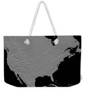 Stereoscopic View Of North America Weekender Tote Bag