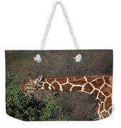 Sticking Your Neck Out Weekender Tote Bag