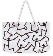 Stickmen Characters Nine Eleven Two Thousand Ten Weekender Tote Bag