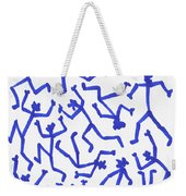 Stickmen Characters One Eleven Two K Eleven Weekender Tote Bag