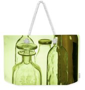 Still Life Of Bottles  Weekender Tote Bag