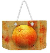 Still Life Orange Abstract Weekender Tote Bag