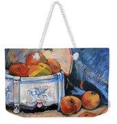Still Life Peaches Weekender Tote Bag