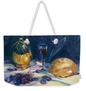 Still Life With Grapes Weekender Tote Bag
