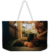 Still Life With Hopper Weekender Tote Bag