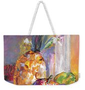Still Life With Pineapple Weekender Tote Bag