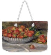 Still Life With Strawberries Weekender Tote Bag