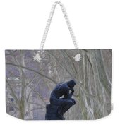 Still Thinking Weekender Tote Bag by Bill Cannon