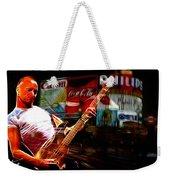Sting In Concert Weekender Tote Bag