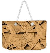 Stock Exchange Art Weekender Tote Bag