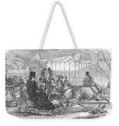 Stockholm: Sleighing, 1850 Weekender Tote Bag